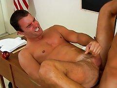 Boy porn masturbation and gay screams in agony as he cums at Teach Twinks