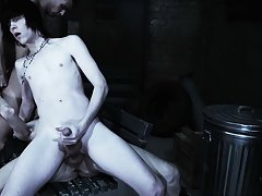 Anal group orgy gay and group sex among men - Gay Twinks Vampires Saga!