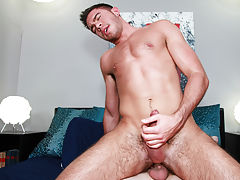 Pics of guys giving themselves blowjob and twink cumming while a cock is in his ass
