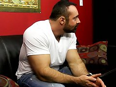 Gays fuck each other in a line and muscular guys shaving each others balls videos at Bang Me Sugar Daddy