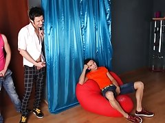 It interesting, how much sperm would be dumped in his poor hole sexy gay asian twinks at Cum To My Ass