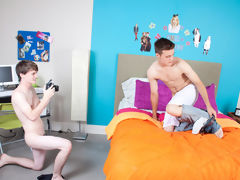 Twinks rubbing in underwear and lose twink hole