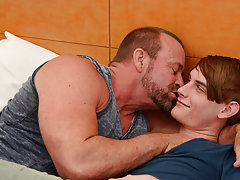 Huge muscled gay boy fucking older man and male masturbation wallpaper at I'm Your Boy Toy