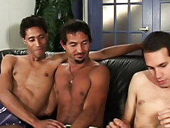 Thomas hooks up with Bernardo and Marick for some hot summer fucking action gay naked hunk