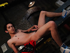 Two twinks in tight boxers have sex and all nude male twink massage - Gay Twinks Vampires Saga!