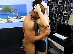 He face-fucks the petite chap with his uncut jock and eats his ass, but that's just the warm up gay young hardcore at Bang Me Sugar Daddy