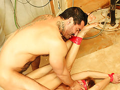 Alexsander Freitas and Kyler Moss are paired up another time and this time they deliver our almost all extreme scene to date hardcore gay hentai yaoi