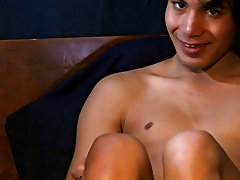 Lots of toe-sucking and giggling on Angel's part in this video, enjoy amateur naked males - at Boy Feast!