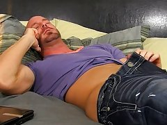 Horrible boss Mitch Vaughn wasn't impressed when he caught his assistant, Kyler Moss, ogling the new stud at the office.