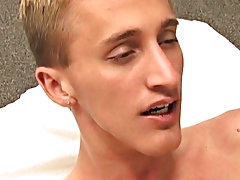 Quinn releases his messy load on to his straight abs, drenching himself in even more cum gay twink sex vids