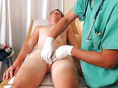 Straight men friends masturbation video and medical men milking tube