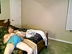 Teen boy shaves cock and socked twink on bed pics - at Boy Feast!