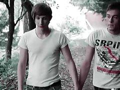 Teen twinks boy emo video at Staxus