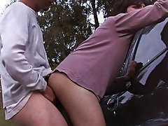 Erick and Julian make it first time gay male outdoor sex at Julian 18