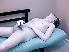 Twink examination tube and males masturbating in group - at Boy Feast!