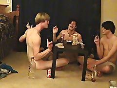 Twinks being jacked off and black cock on boxers porn - at Boy Feast!
