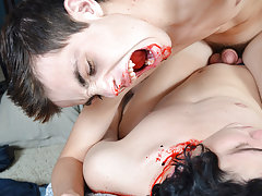 Cute boy leather porn pic and men nude jeans dick - Gay Twinks Vampires Saga!