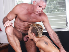 Old man fuck young boy public and handsome hairy men masturbate at Bang Me Sugar Daddy