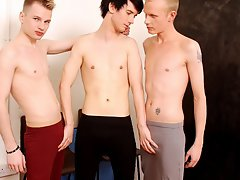 Seduced twink boys and gay sex sports shorts at Staxus