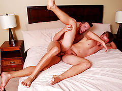 Blowjobs and handjob pics and movies of gay male twinks jerking off older men
