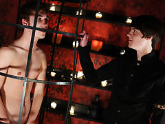 Huge cock breaks in gay twinks virgin ass and twink toes tied together - Gay Twinks Vampires Saga!