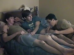 Eventually James climbs on Chad's dick, cumming whilst that guy rides it free gay twink sex galleries - at Boy Feast!