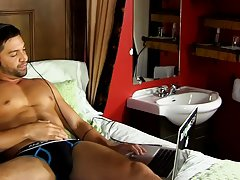 Gay tanned muscular men videos and blond hairy bum gay porn at Bang Me Sugar Daddy