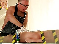 Free male bondage gallery and gay bondage electric torture - Boy Napped!