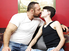 Mature gay trucker facials and granny fucks twinks at Bang Me Sugar Daddy