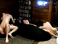 Gay wet briefs twink and video young gay boy masturbated by old gay - at Boy Feast!