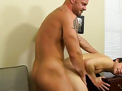Pictures of white man dick cumming and fit gay cum at My Gay Boss