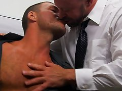 Sex fuck tv serial and sucked the cum out gay at My Gay Boss
