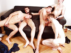 First time men touching other mens cocks and naked blonde german men at Staxus