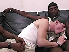 Gay male interracial gangbang story and young gay interracial cum eater