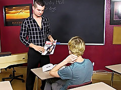 At first Preston backs up on Trevor's jock but soon enough the teacher becomes the student when Preston turns the tables young boy gay first at T