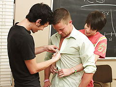 And when it is Kyler's turn, Drake almost makes the small lad scream hong kong gay twinks at Teach Twinks