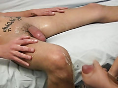 He rubs and licks at his cock in those undies and he pulls them off continuing to suck and play with that hardening dick men masturbating in publi