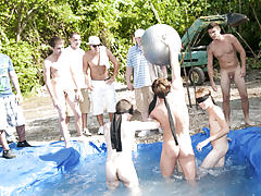There is nothing like a worthy summer time splash, especially when the pool is guy made and ghetto rigged as fuck gay jocks videos big coc