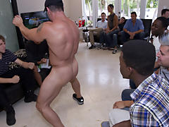 Gay mens masturbation groups in texas and full length movies of gay group sex at Sausage Party