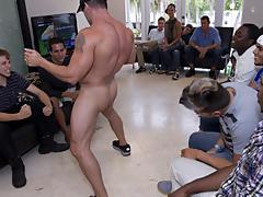 Gay mens masturbation groups in texas and full length movies of gay group sex at Sausage Party