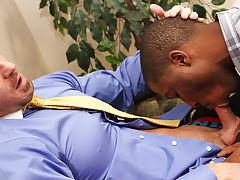 Black teens boys show off hung dicks and black gay videos trailer at My Gay Boss