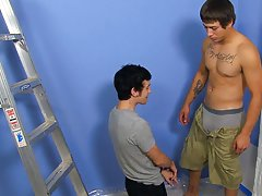 Two lesbians fucking two gay men and younger cute gay gym pics at My Gay Boss