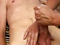 Buff black male naked solo masturbation and extreme male masturbation hardcore film