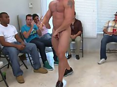 Gay group nude and group treatment for drug addiction at Sausage Party