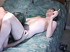 Real life boyfriends Nathan and Lucas came to us to fuck on camera for the first time gay twinks cumshots - at Boy Feast!