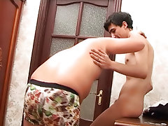 He entered the room and they started engulfing face which in a short time developed into engulfing cocks gay teen hunk