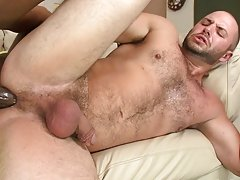 It's a little strange how much this boy can't live without getting fucked by huge black cock, but we are here to please everyone, so if you
