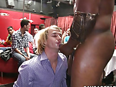 Gay tube porn twink seduction and young twink takes many loads at Sausage Party