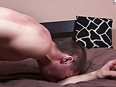 As Rocco came up for some much needed air, I told him to spit on Bobby's cock, which he promptly did before jerking him off first huge cock gay m