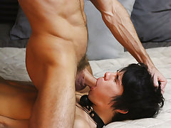 Black male moaning masturbation and used gay sex toys at Bang Me Sugar Daddy